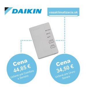 Wifi modul pre Daikin triedy Comfora, Sensira za 44,85€ a Ururu Sarara 34,50€